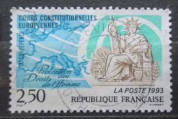 Poštovní známka Francie 1993 Státní peèe� Mi# 2954