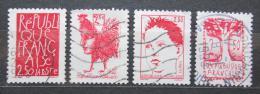 Poštovní známky Francie 1992 Vyhlášení republiky, 200. výroèí Mi# 2916-19