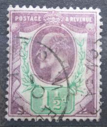 Poštovní známka Velká Británie 1902 Král Edward VII. Mi# 105 A Kat 6€