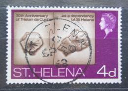 Poštovní známka Svatá Helena 1968 Topografická mapa Mi# 188