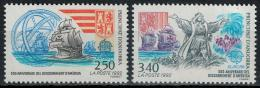 Poštovní známky Andorra Fr. 1992 Evropa CEPT, objevení Ameriky Mi# 437-38 Kat 12€