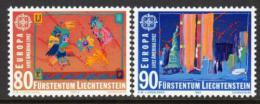 Poštovní známky Lichtenštejnsko 1992 Evropa CEPT, objevení Ameriky Mi# 1033-34
