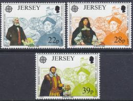 Poštovní známky Jersey 1992 Evropa CEPT, objevení Ameriky Mi# 574-76