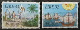 Poštovní známky Irsko 1992 Evropa CEPT, objevení Ameriky Mi# 792-93