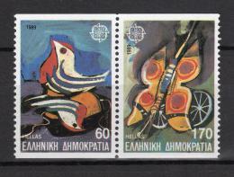 Poštovní známky Øecko 1989 Evropa CEPT, dìtské hry Mi# 1721-22 C Kat 8€