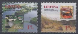 Poštovní známky Litva 1999 Evropa CEPT, národní parky Mi# 693-94