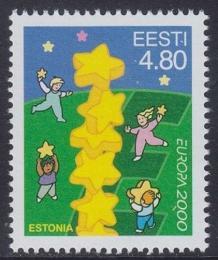 Poštovní známka Estonsko 2000 Evropa CEPT Mi# 371