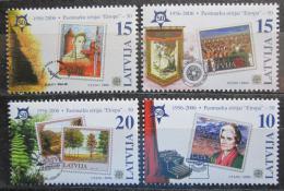 Poštovní známky Lotyšsko 2006 Evropa CEPT, 50. výroèí Mi# 652-55