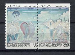 Poštovní známky Øecko 1993 Evropa CEPT, moderní umìní Mi# 1829-30 C Kat 9€