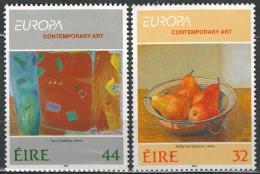 Poštovní známky Irsko 1993 Evropa CEPT, moderní umìní Mi# 825-26