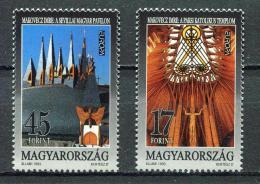 Poštovní známky Maïarsko 1993 Evropa CEPT, moderní umìní Mi# 4241-42