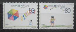 Poštovní známky Madeira 1989 Evropa CEPT, dìtské hry Mi# 125-26 Kat 7.50€