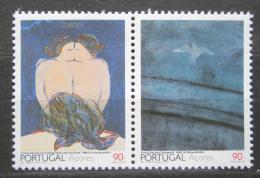 Poštovní známky Azory 1993 Evropa CEPT, moderní umìní Mi# 434-35 Kat 5€