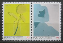 Poštovní známky Madeira 1993 Evropa CEPT, moderní umìní Mi# 162-63 Kat 5€