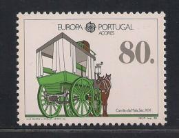 Poštovní známka Azory 1988 Evropa CEPT, transport Mi# 390 a Kat 10€