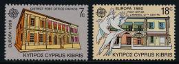 Poštovní známky Kypr 1990 Evropa CEPT, pošty Mi# 748-49