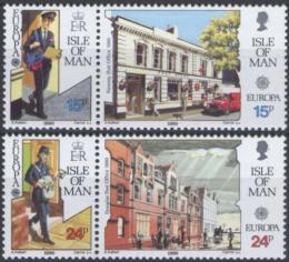 Poštovní známky Ostrov Man 1990 Evropa CEPT, pošty Mi# 427-30