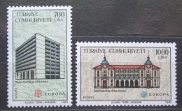 Poštovní známky Turecko 1990 Evropa CEPT, pošty Mi# 2886-87 Kat 10€