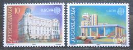 Poštovní známky Jugoslávie 1990 Evropa CEPT, pošty Mi# 2414-15
