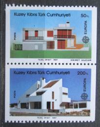 Poštovní známky Kypr 1987 Evropa CEPT, moderní architektura Mi# 205-06 C