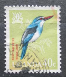 Poštovní známka Uganda 1965 Ledòáèek uzdièkový Mi# 92