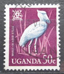 Poštovní známka Uganda 1965 Èlunozobec africký Mi# 93