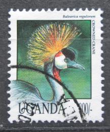 Poštovní známka Uganda 1992 Jeøáb paví Mi# 1150