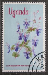 Poštovní známka Uganda 1969 Clerodendrum myricoides Mi# 115