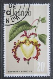 Poštovní známka Uganda 1969 Monodora myristica Mi# 119