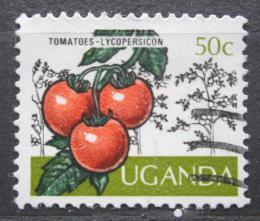 Poštovní známka Uganda 1975 Rajèata Mi# 127