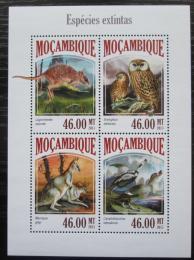 Poštovní známky Mosambik 2013 Fauna Mi# 6962-65 Kat 11€