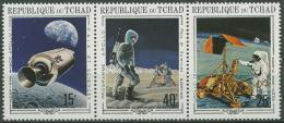 Poštovní známky Èad 1970 Prùzkum Mìsíce, Apollo Mi# 291-93 Kat 6€