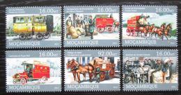 Poštovní známky Mosambik 2013 Pøeprava pošty Mi# 6532-37 Kat 10€
