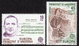 Poštovní známky Andorra Šp. 1985 Evropa CEPT, rok hudby Mi# 181-82