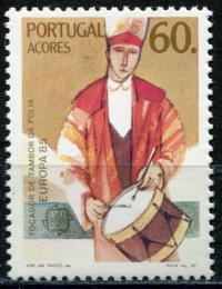 Poštovní známka Azory 1985 Evropa CEPT, rok hudby Mi# 373