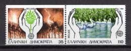Poštovní známky Øecko 1986 Evropa CEPT, ochrana pøírody Mi# 1630-31 C Kat 14€