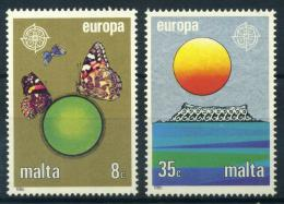 Poštovní známky Malta 1986 Evropa CEPT, ochrana pøírody Mi# 746-47