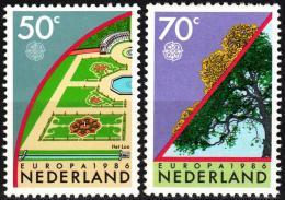 Poštovní známky Nizozemí 1986 Evropa CEPT, ochrana pøírody Mi# 1292-93