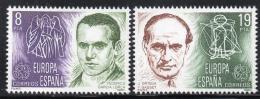 Poštovní známky Španìlsko 1980 Evropa CEPT, osobnosti Mi# 2460-61