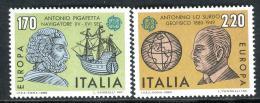 Poštovní známky Itálie 1980 Evropa CEPT, osobnosti Mi# 1686-87