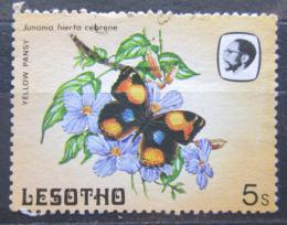 Poštovní známka Lesotho 1984 Junonia hierta cebrene Mi# 446
