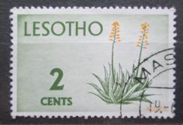 Poštovní známka Lesotho 1971 Aloe africana Mi# 93 Y