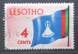 Poštovní známka Lesotho 1971 Státní vlajka Mi# 97 Y