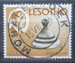 Poštovní známka Lesotho 1967 Basutský klobouk Mi# 28