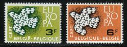 Poštovní známky Belgie 1961 Evropa CEPT Mi# 1253-54