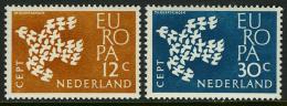 Poštovní známky Nizozemí 1961 Evropa CEPT Mi# 765-66