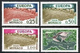 Poštovní známky Monako 1962 Evropa CEPT Mi# 695-98