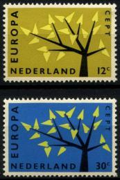 Poštovní známky Nizozemí 1962 Evropa CEPT Mi# 782-83