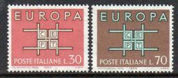 Poštovní známky Itálie 1963 Evropa CEPT Mi# 1149-50