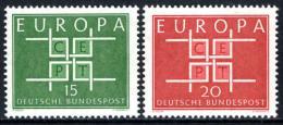 Poštovní známky Nìmecko 1963 Evropa CEPT Mi# 406-07